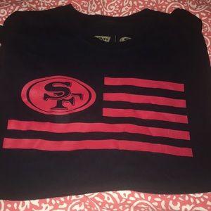 San Francisco 49ers Levi's T Shirt Sz Xl 2015